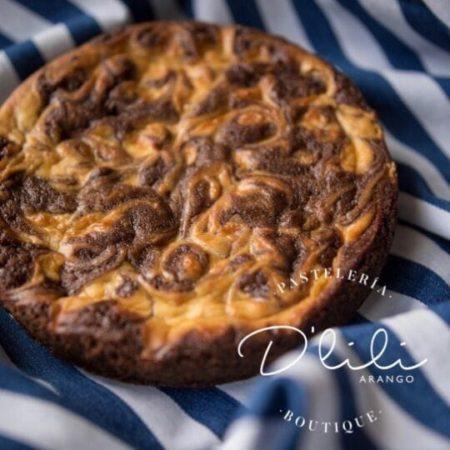 Torta de Brownie Cheesecake - Marca de Agua - Imagen 1